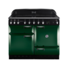 Rangemaster Elan 110cm Electric Induction 89520 Range Cooker in Racing Green with Induction Hob