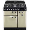 Rangemaster Elan 90cm Dual Fuel 72920 Range Cooker in Cream with FSD Hob