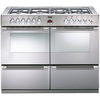 Cookers & Ovens Stoves Sterling R1100DFT 110cm Dual Fuel Range Cooker in Stainless Steel