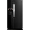 Refrigeration Stoves SXS90 SS Side-By-Side Fridge Freezer in Black
