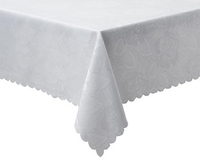 Home Textiles  - Easy Care Damask Tablecloth, 130cm sq.