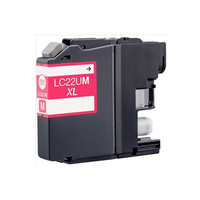 Printer Consumables  - Compatible Magenta Brother LC22UM Ink Cartridge
