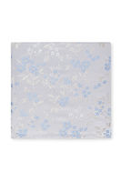 Gifts  - Savoy Taylors Guild Ivory and Blue Floral Silk Handkerchief