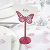 Fuchsia Butterfly Place Card Holder