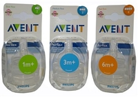 Baby Products  - Philips Avent 2 Hole Slow Flow Teat Pack of 2 SCF634/27