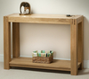 Tables Alto Solid Oak Console / Hallway Table