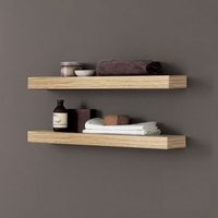 Bathrooms  - Adatto Casa Light Oak 700 Shelf