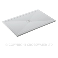 Showers  - Simpsons 1000 x 800 Rectangular 25mm Stone Resin Shower Tray & Waste