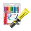 Office Supplies Stabilo Boss Highlighter Neon Yellow Pack of 10 FOC Fibre Tip Pen Pack