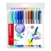 Office Supplies Stabilo Point Max Fineliner Pen Assorted Pack of 24 48824-01