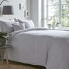 Curtains & Blinds Appletree Silver - Salcombe Embroidered Bedding Set Silver