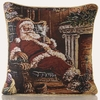 Curtains & Blinds Santa Tapestry Christmas C/Cover Multi