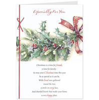 Greeting Cards  - Hallmark Especially For You Christmas Card