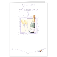 Greeting Cards  - Hallmark Evening Acceptance card