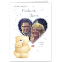 Greeting Cards  - Hallmark Forever Friends Amazing Husband Photo Upload Card