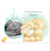 Greeting Cards Hallmark Forever Friends Baby Boy Thank You Photo Upload Postcard