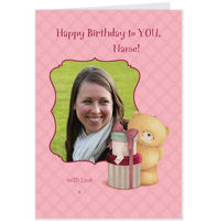 Greeting Cards  - Hallmark Forever Friends Photo Upload Birthday Card