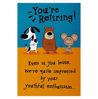 Greeting Cards  - Hallmark From Everyone Retirement Card