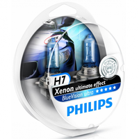 Car Parts  - Philips Blue Vision Ultra H7 (Twin)