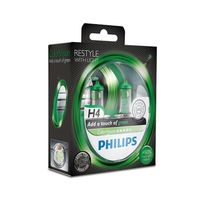 Car Parts  - Philips ColorVision Green H4 (Twin)