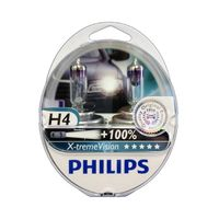 Car Parts  - Philips X-treme Vision H4 (Twin Pack)