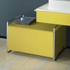 Cheapsuites Brack Floor Standing Base Module with Drawer - Yellow Ochre Finish