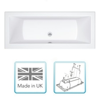 Bathtubs  - Cheapsuites Plover 1700mm x 700mm Double Ended Bath