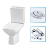 Cheapsuites Ulva Toilet Pan,  Soft Close Seat & Cistern with Siamp Fittings