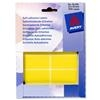 Avery 16-315 Labels in Wallets Yellow 25x50mm Ref 16-315 - Pack 324