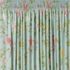Summer Palace Duck Egg Pencil Pleat Ready Made Curtains