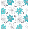 Painting & Decorating Arthouse Samba Motif Aqua 406009