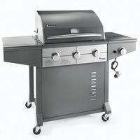 Barbecues & Accessories  - Avalon Three Burner Gas Barbecue