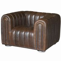 Chairs  - Odeon Sofas (1 Seat Armchair - Brown)