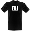 Novelty T-Shirts Female Body Inspector male t-shirt.