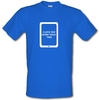 Novelty T-Shirts I love you more than this - ipad male t-shirt.