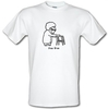 Novelty T-Shirts Iron Gran male t-shirt.