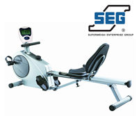 Fitness Equipment  - SEG 6601 Recumbent Exercise Bike & Rower