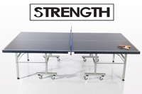 Strength Pure Sport Deluxe Indoor Table Tennis Table (Blue)