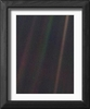 Pale Blue Dot,  Voyager 1 image Framed Print