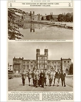 Art  - The education of British Youth Stonyhurst College Photographic Print