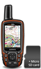 Garmin GPSMAP 64s GPS Bundle with GB Discoverer mapping 1:50k - Full Country