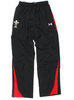 Wales Players Ignition Woven Track Pants Black/Red
