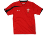 Wales Players Performance Rugby Training T-Shirt Red/Black
