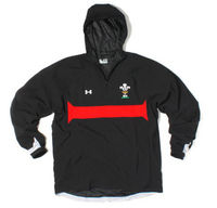 Wales Players Scar 1/4 Zip Contact Jacket Black/Red