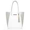 Moda in Pelle Venetabag White Casual Handbags