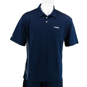 Karakal Leon Button Polo Shirt - Navy,  M