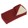 Lotus Design Yoga Back Bolster - Burgundy