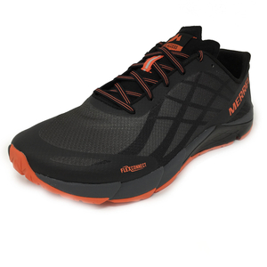 Merrell Bare Access Flex Mens Running Shoes - Black,  7.5 UK