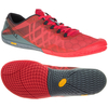 Merrell Vapor Glove 3 Mens Running Shoes AW17 - Red,  10 UK