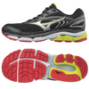 Mizuno Wave Inspire 13 Mens Running Shoes - Black/Silver,  8 UK